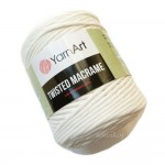 Sznurek do makramy YarnArt Twisted Macrame ECRU KREMOWY kol.752