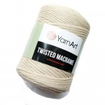 Sznurek do makramy  YarnArt Twisted Macrame BEŻOWY kol.753