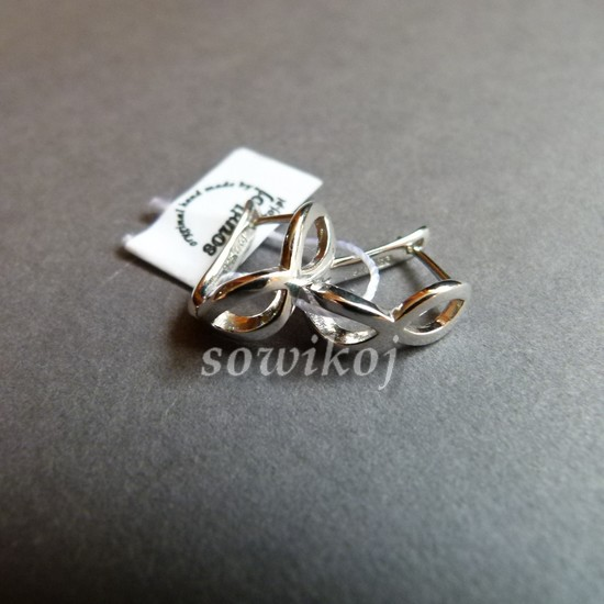 d76db8b678e140 Kolczyki srebrne okulary sowikoj autorska biżuteria i rękodzieło